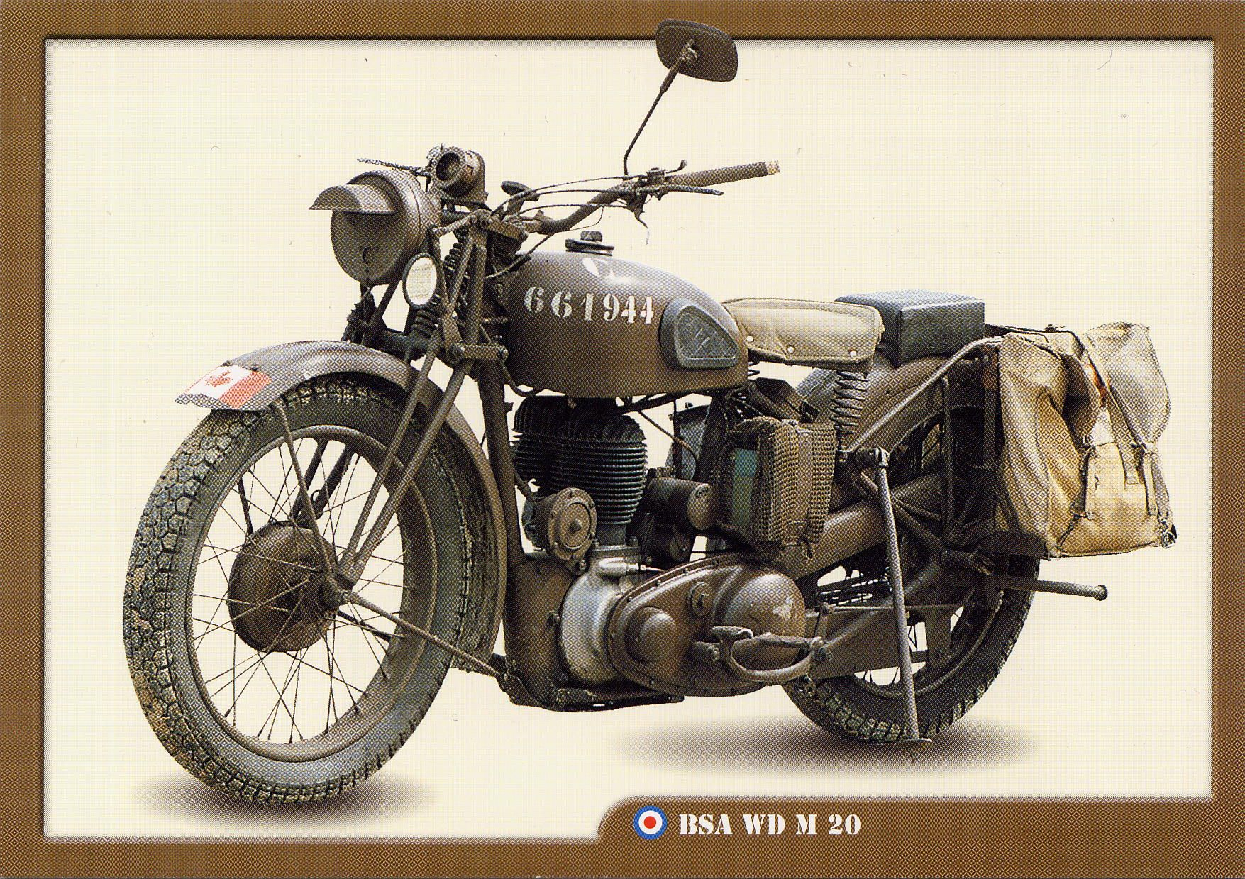 Les motos militaires